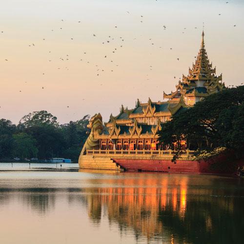 vestiges & population Birmane