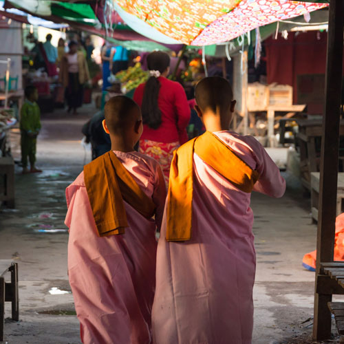 aventures au Myanmar