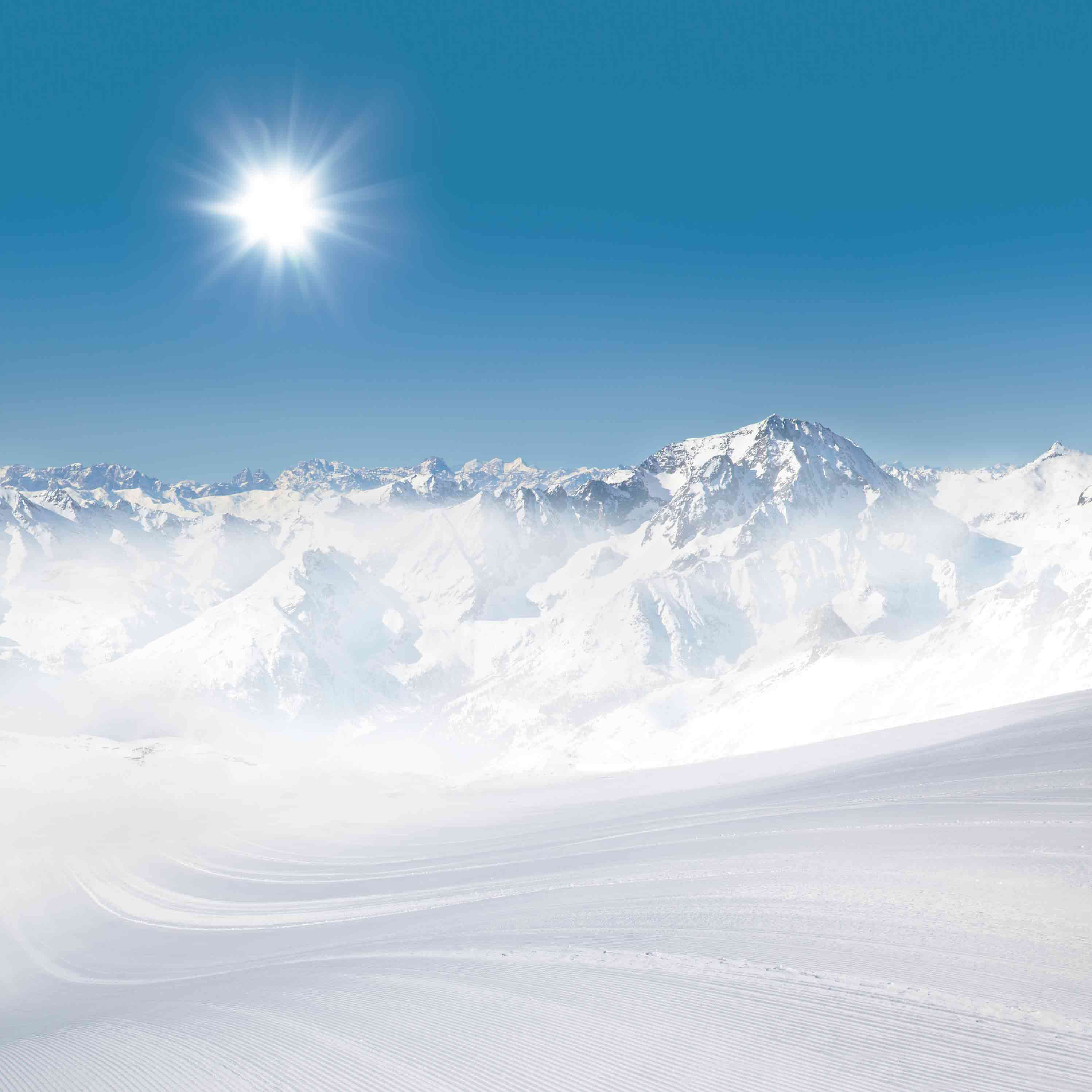 Ski à deux à Kitzbühel