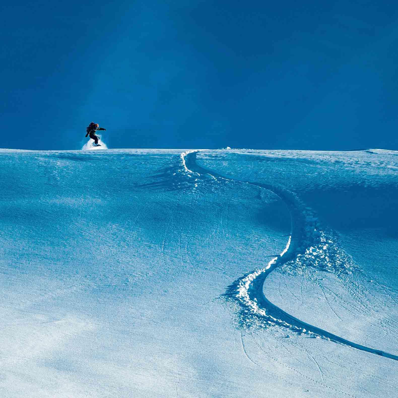 Ski à deux à St. Anton am Arlberg