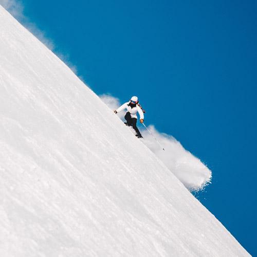 Ski à deux à Selva di Val Gardena