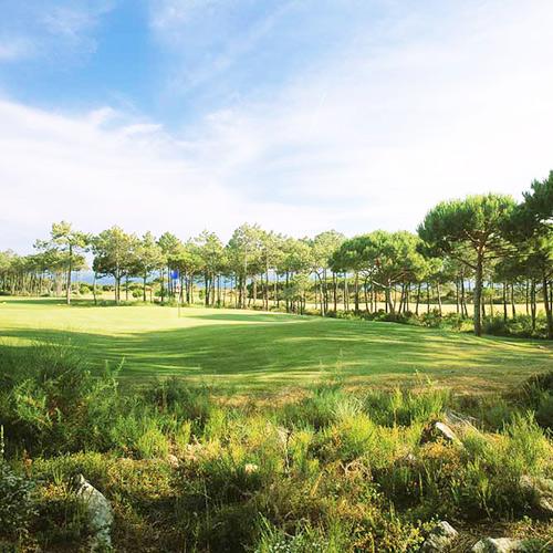 Golf with friends at Quinta da Marinha Resort