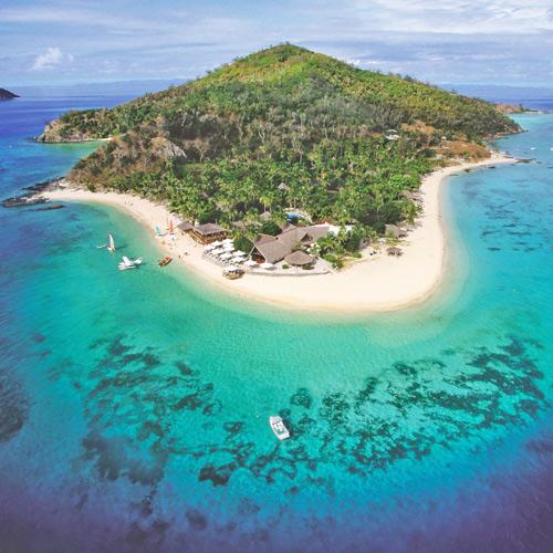 Family getaway on Castaway Island
