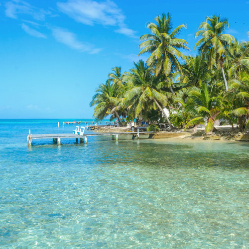Escapade for two on an island Ambergris Caye