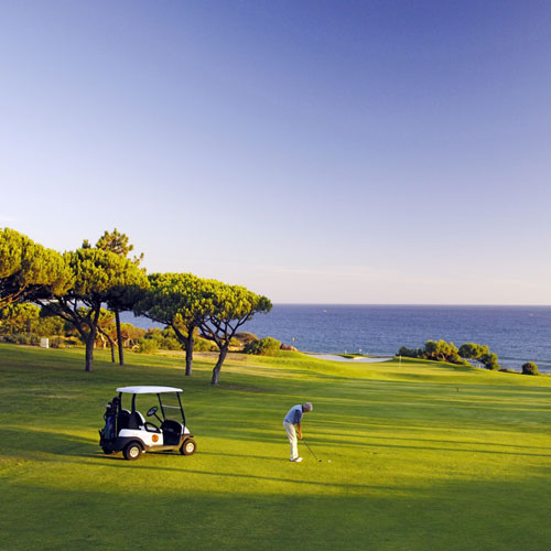 Golf with friends in Algarve